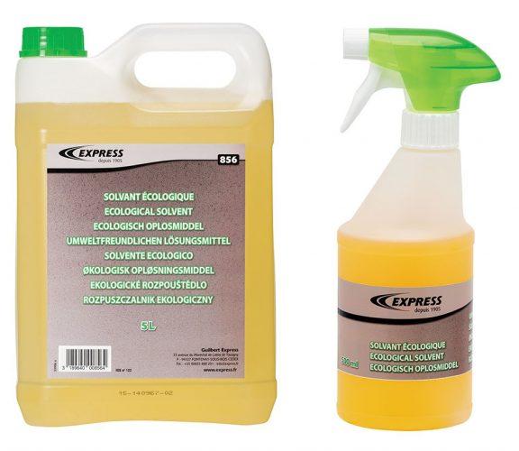 Les solvants 856 et 856P la gamme idéale pour nettoyer les résidus de bitume