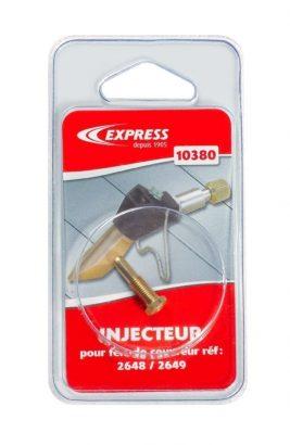 Injecteur SAV Réf. 10380 pour lances fer de couvreur sous blister