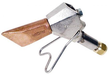 Lance avec panne Réf. 2649 pour fer de couvreur