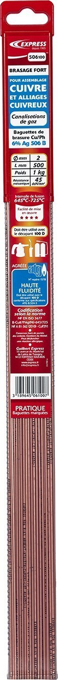 Baguettes de Brasure Réf. 506100