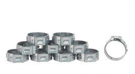 Lot de 10 colliers de serrage Réf. 954 pour tuyau caoutchouc