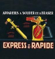 Affiche Express & Rapide 1905