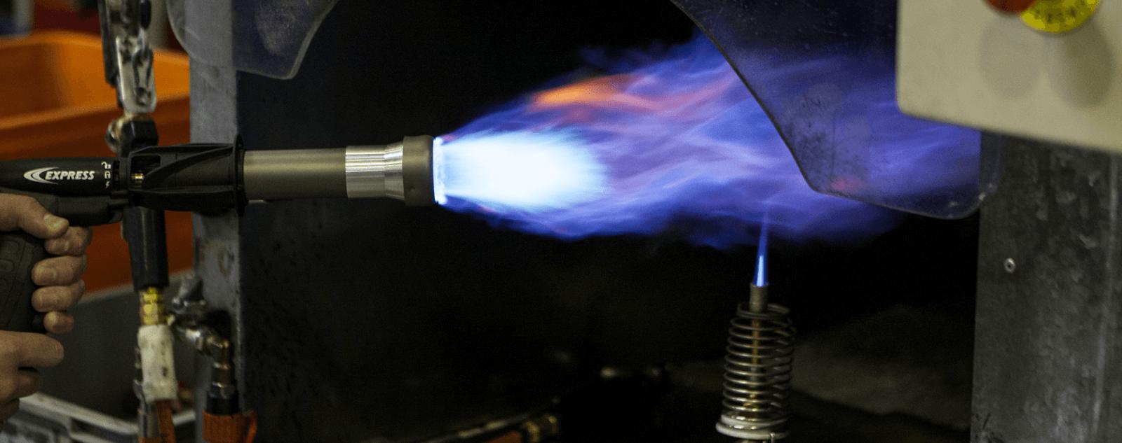 Test de flamme