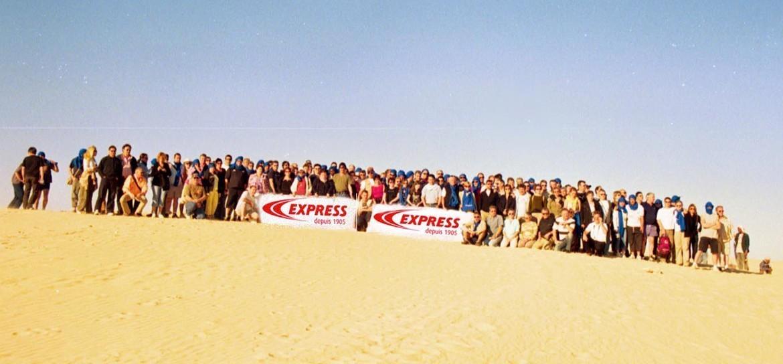 L'équipe Guilbert Express en Tunisie