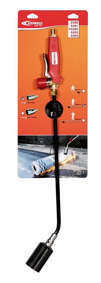 Chalumeau d'étanchéité acier Réf. 5502 sur cartonnette