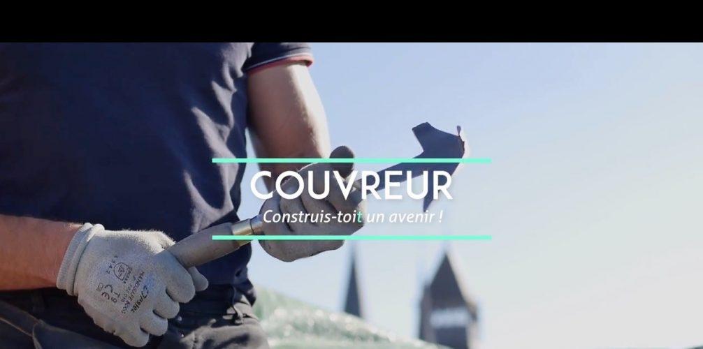 """Bannière """"Couvreur : Construis-toit un avenir !"""""""