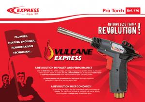 Vulcane Express nothing than lezss a revolution