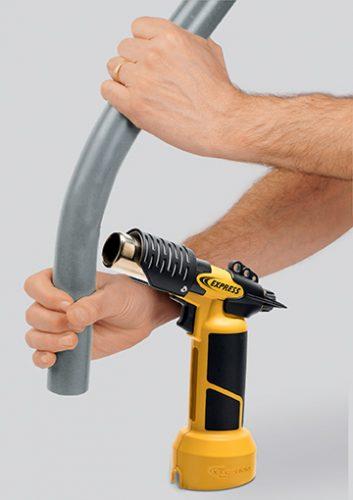 Pistolet air chaud 4600 idéal pour pré-former les tubes de PVC
