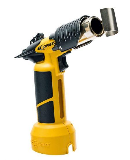 Pistolet air chaud autonome Réf. 4600 avec son déflecteur pour tube