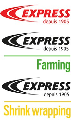 Autres logos des divisions Express
