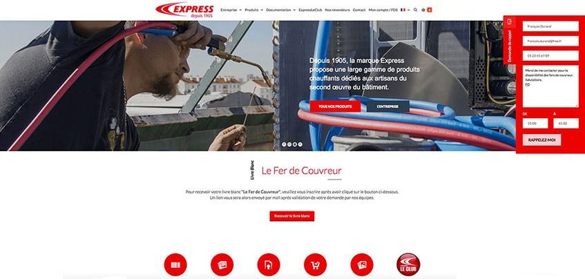 La demande de rappel, un nouveau service Express pour ses clients
