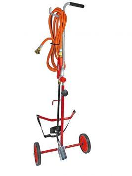 Désherbeur thermique avec chariot porte-bouteille de gaz Réf. 6505