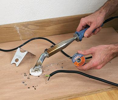Exemple d'utilisation des fers à souder à Haut Rendement Thermique (HRT)